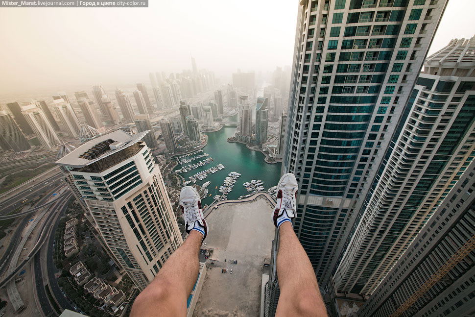 Breathtaking height: Photos by a Russian thrill seeker Marat Dupri - 37
