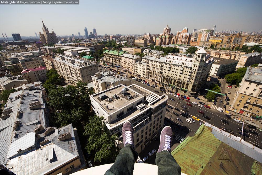 Breathtaking height: Photos by a Russian thrill seeker Marat Dupri - 04