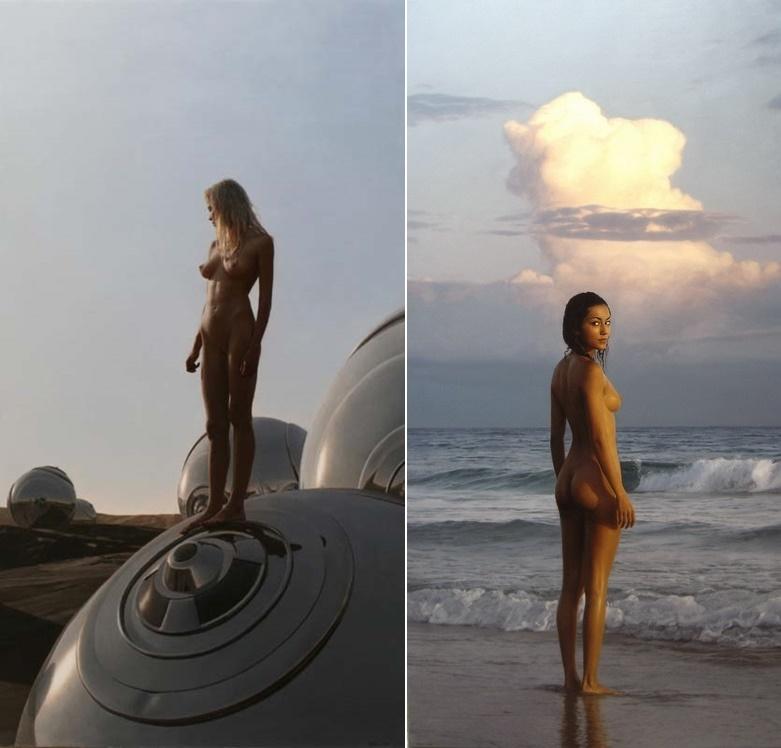 On a sphere & Ocean