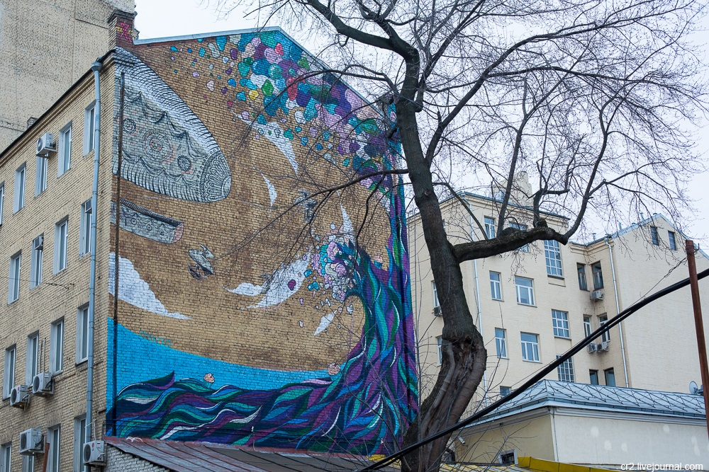 Creative street-art in the capital city: Huge Moscow graffiti - Part 2 - 16