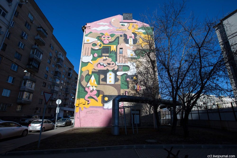 Creative street-art in the capital city: Huge Moscow graffiti - Part 2 - 17
