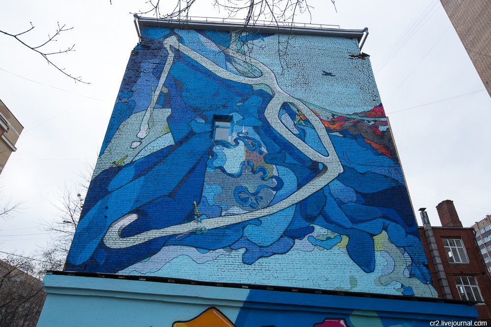 Creative street-art in the capital city: Huge Moscow graffiti - Part 2 - 02