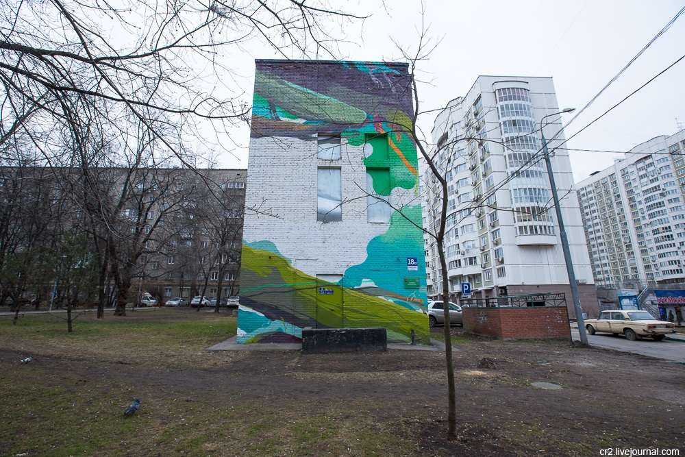 Creative street-art in the capital city: Huge Moscow graffiti - Part 2 - 04
