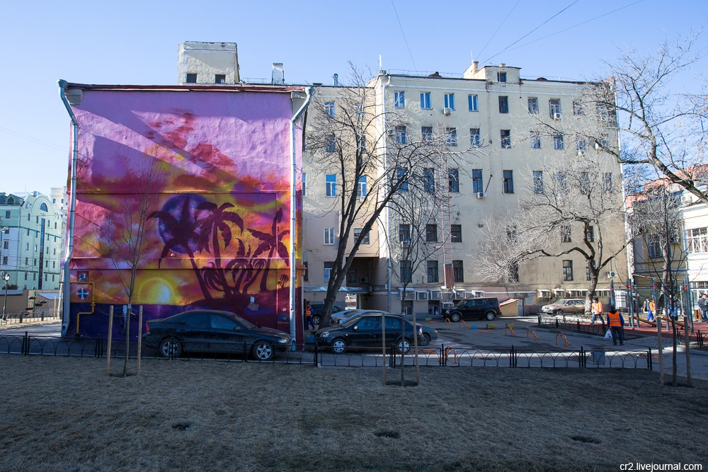 Creative street-art in the capital city: Huge Moscow graffiti - Part 2 - 08