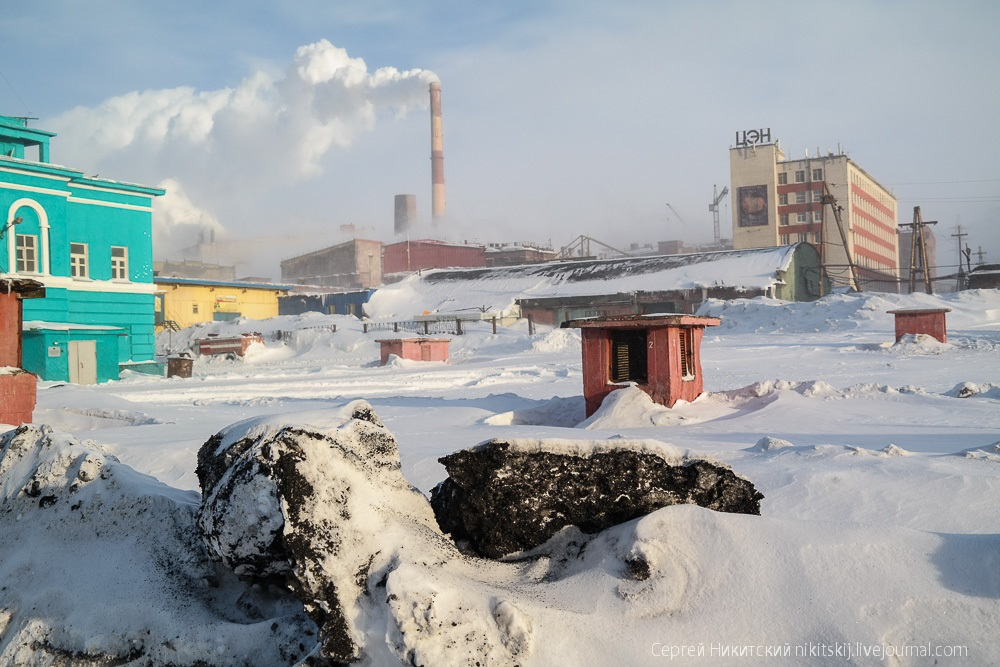 Dark Norilsk: The most polluted and gloomy industrial city of Russia - 47