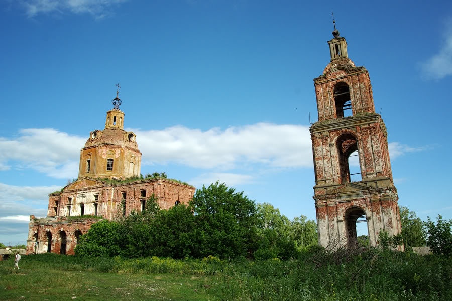 God-forsaken: Abandoned churches and cathedrals of Russia - 11