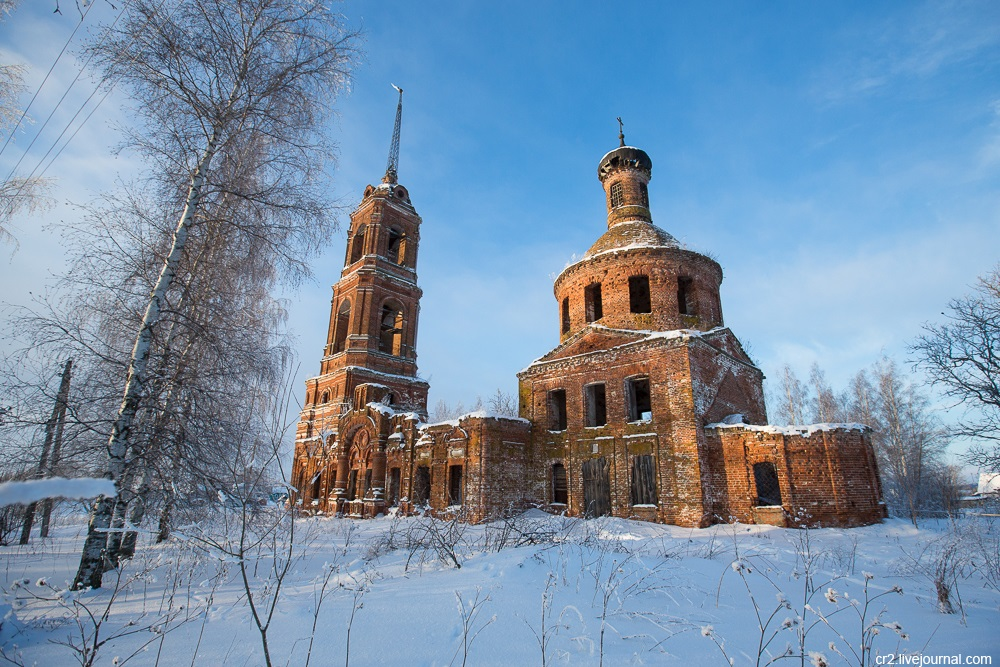 God-forsaken: Abandoned churches and cathedrals of Russia - 19
