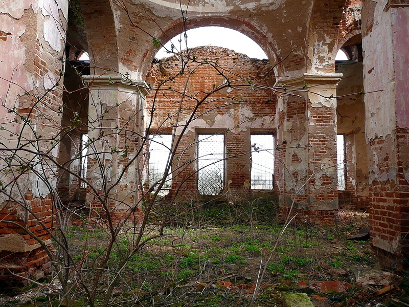 God-forsaken: Abandoned churches and cathedrals of Russia - 41