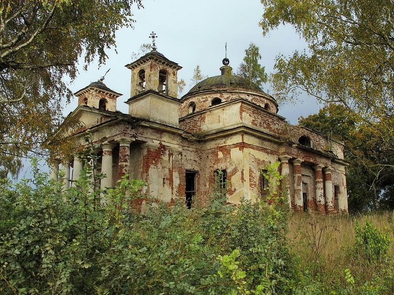 God-forsaken: Abandoned churches and cathedrals of Russia - 42