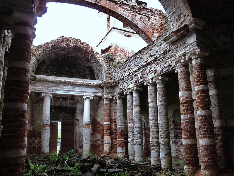 God-forsaken: Abandoned churches and cathedrals of Russia - 44