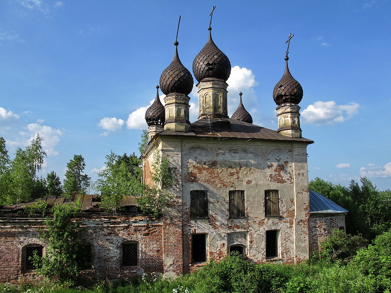 God-forsaken: Abandoned churches and cathedrals of Russia - 47
