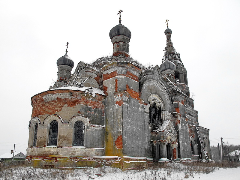 God-forsaken: Abandoned churches and cathedrals of Russia - 53