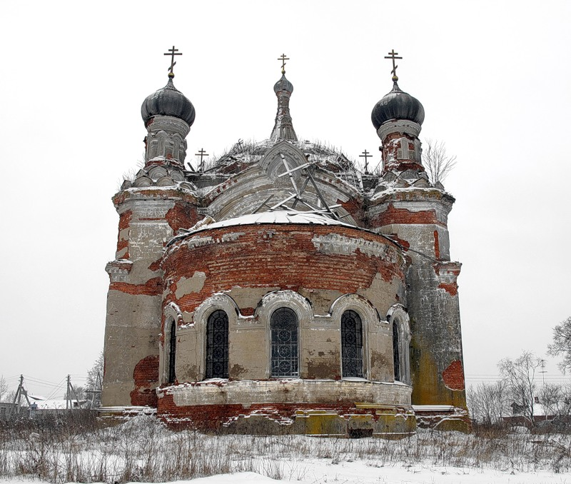 God-forsaken: Abandoned churches and cathedrals of Russia - 54