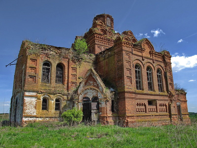 God-forsaken: Abandoned churches and cathedrals of Russia - 63