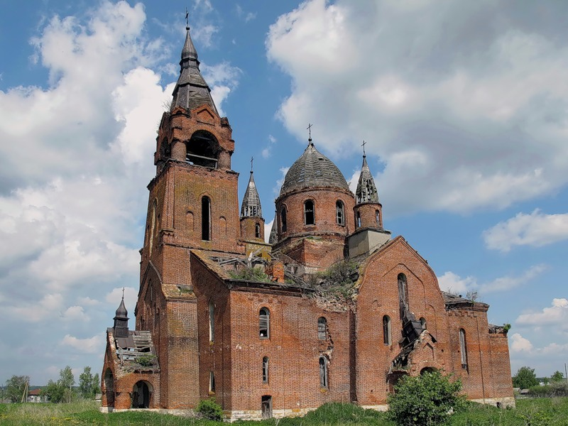 God-forsaken: Abandoned churches and cathedrals of Russia - 67