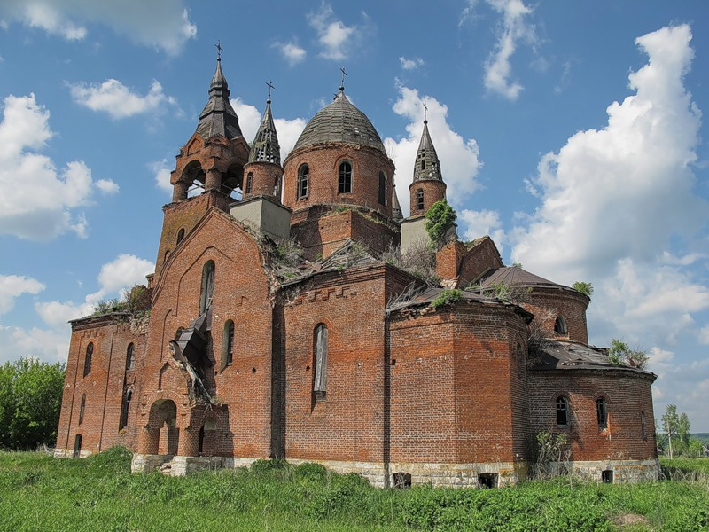 God-forsaken: Abandoned churches and cathedrals of Russia - 68