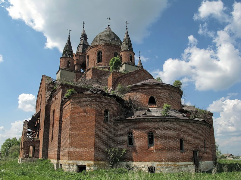 God-forsaken: Abandoned churches and cathedrals of Russia - 71
