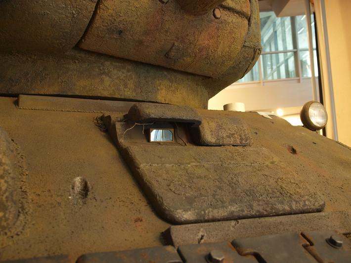 A great Soviet tank T-34 of the World War II made from polyfoam - 05
