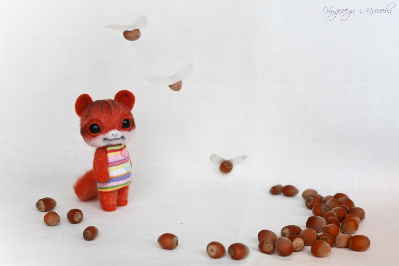 Handmade tenderness: Super sweet toys by Nadezhda Micheeva - 11
