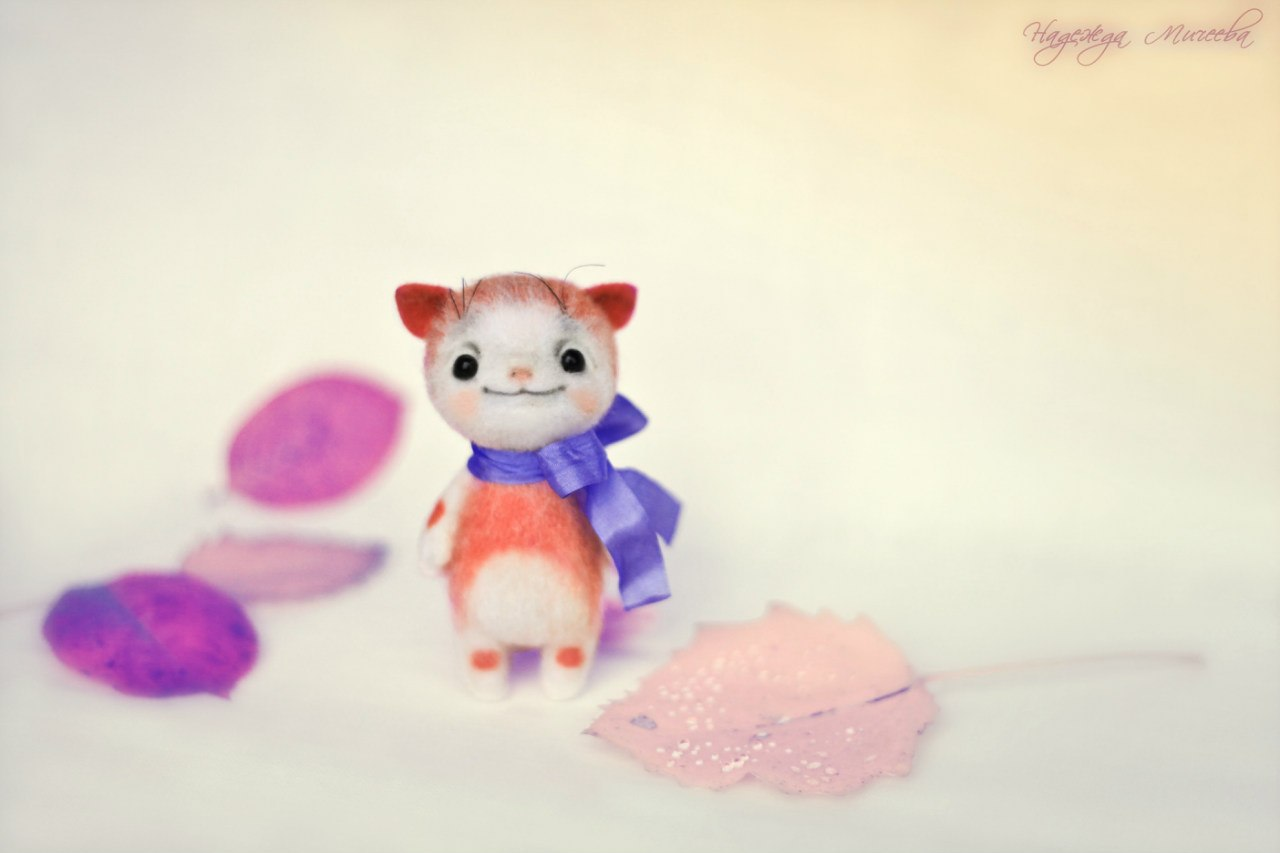 Handmade tenderness: Super sweet toys by Nadezhda Micheeva - 15