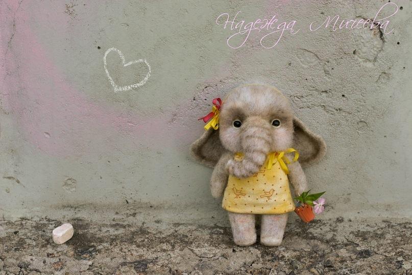 Handmade tenderness: Super sweet toys by Nadezhda Micheeva - 02