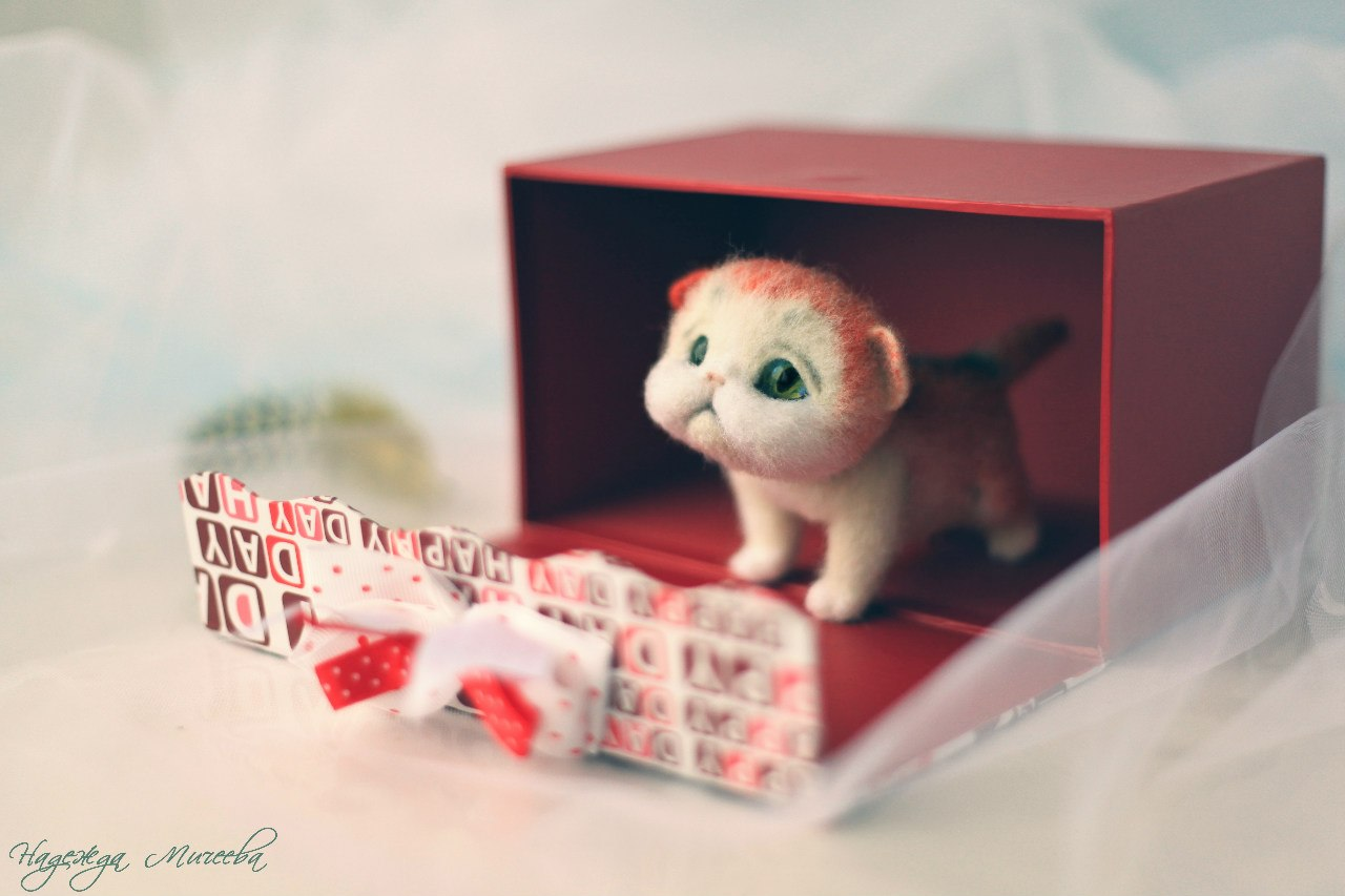 Handmade tenderness: Super sweet toys by Nadezhda Micheeva - 20
