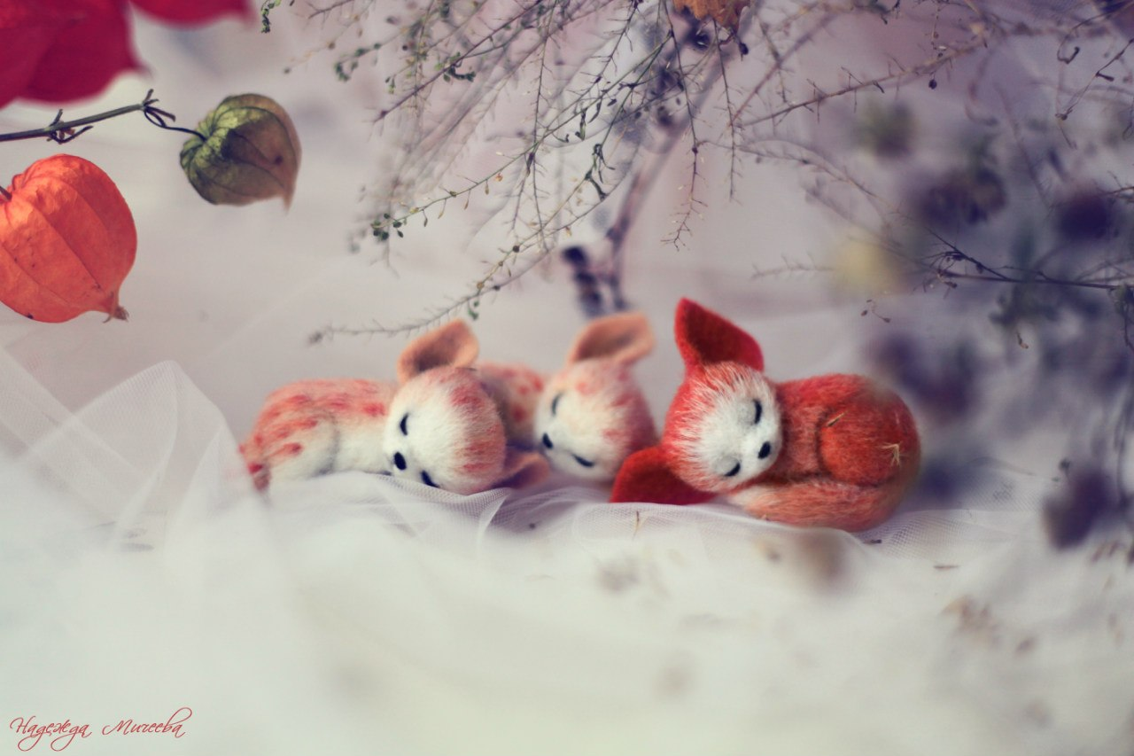 Handmade tenderness: Super sweet toys by Nadezhda Micheeva - 25
