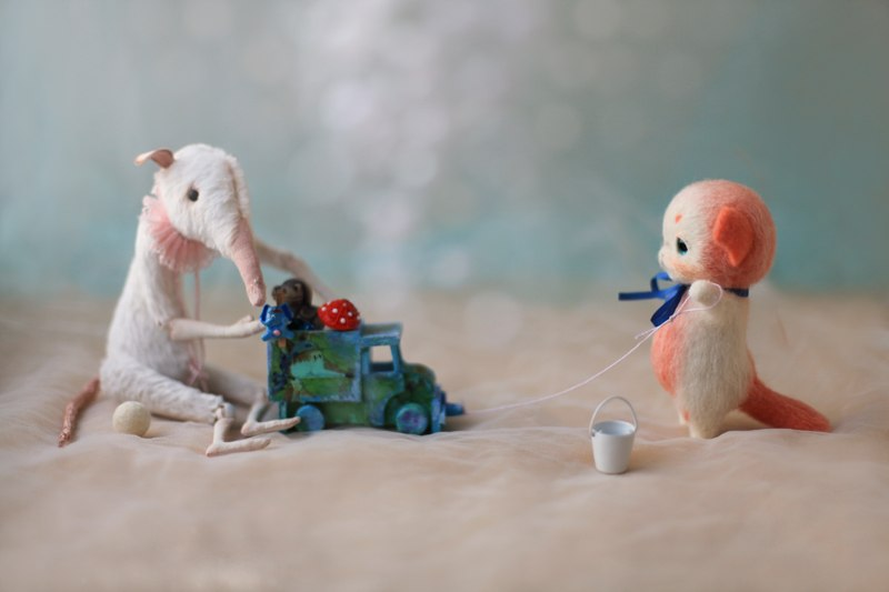 Handmade tenderness: Super sweet toys by Nadezhda Micheeva - 46
