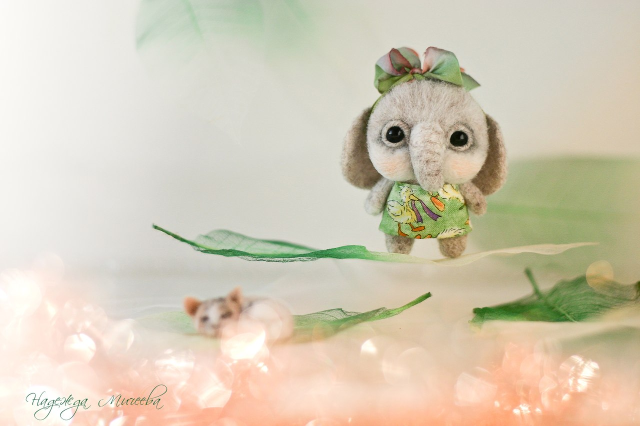 Handmade tenderness: Super sweet toys by Nadezhda Micheeva - 07