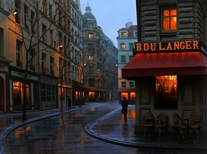Pensive mood: Night cityscapes by a Russian artist Alexey Butyrsky - 10
