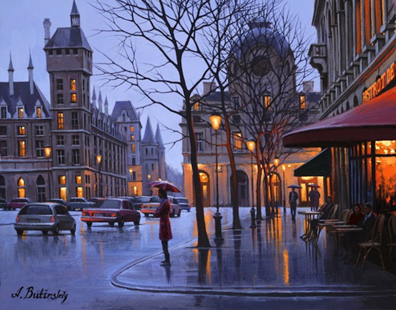 Pensive mood: Night cityscapes by a Russian artist Alexey Butyrsky - 32