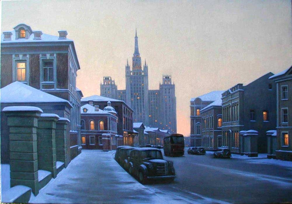 Pensive mood: Night cityscapes by a Russian artist Alexey Butyrsky - 41