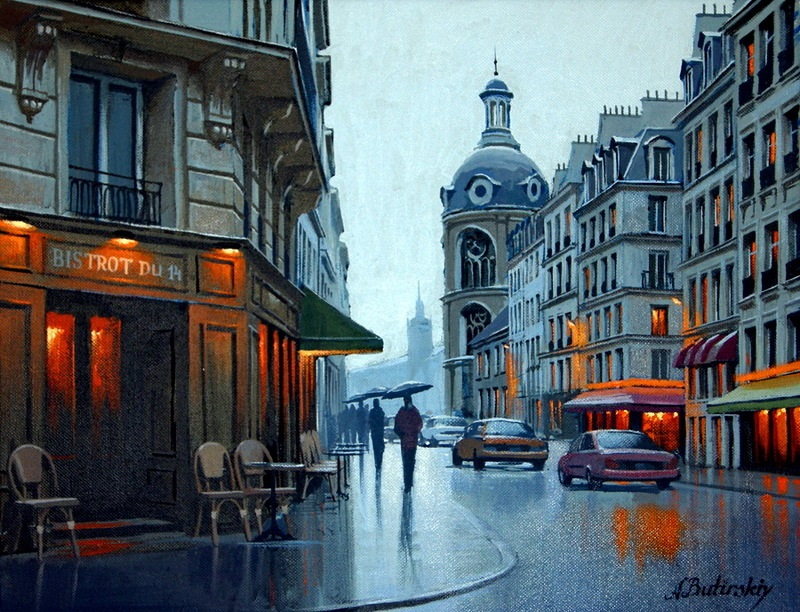 Pensive mood: Night cityscapes by a Russian artist Alexey Butyrsky - 09