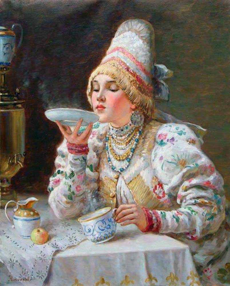 Russian princess: Pictures by a Russian artist Vladislav Nagornov - 11