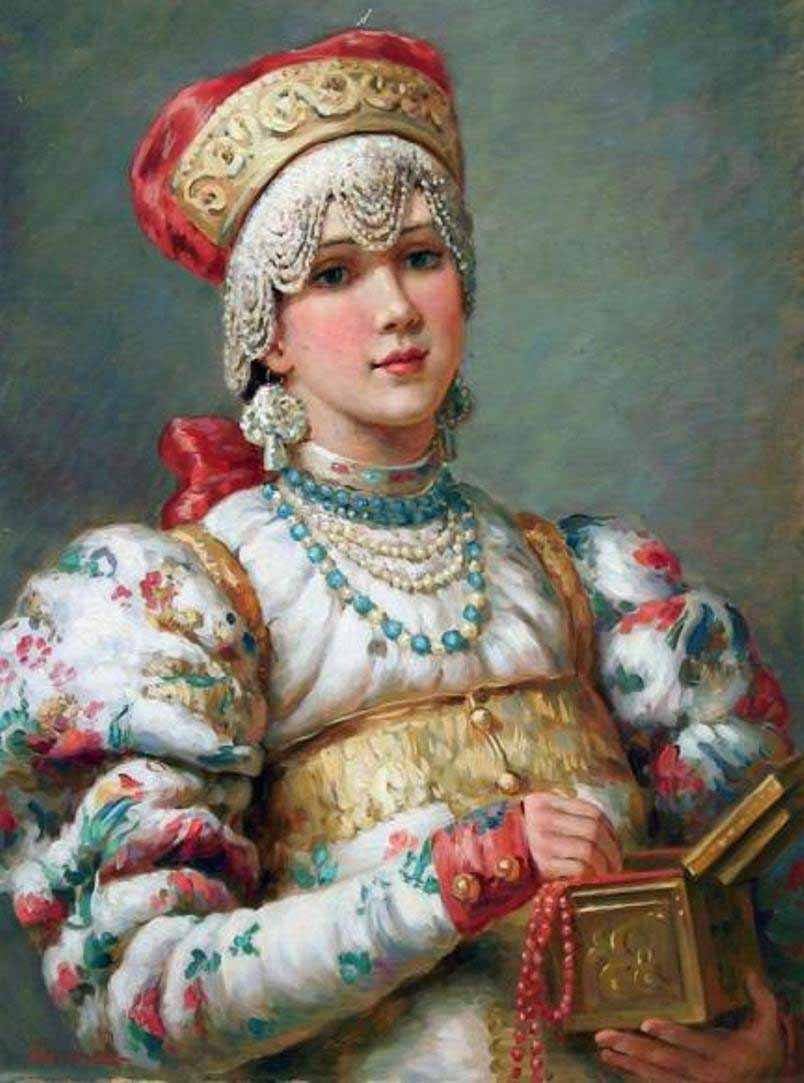 Russian princess: Pictures by a Russian artist Vladislav Nagornov - 08