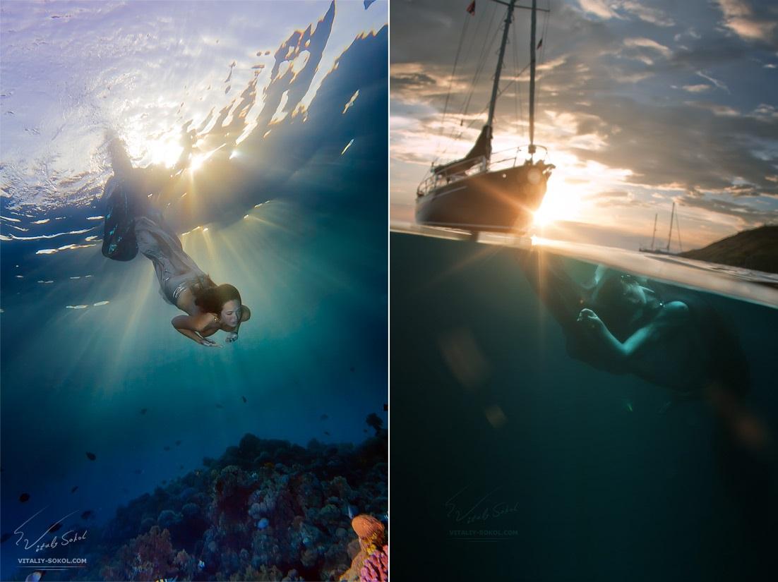 Underwater dances: Wonderful undersea photos by Vitaly Sokol - 33