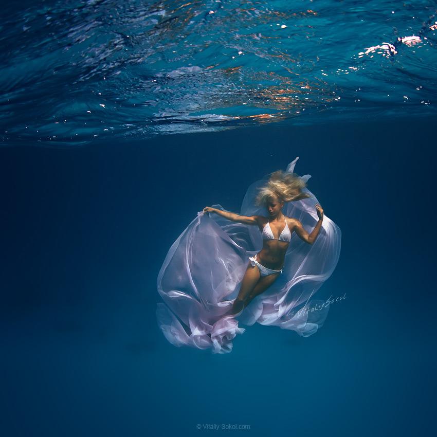 Underwater dances: Wonderful undersea photos by Vitaly Sokol - 35