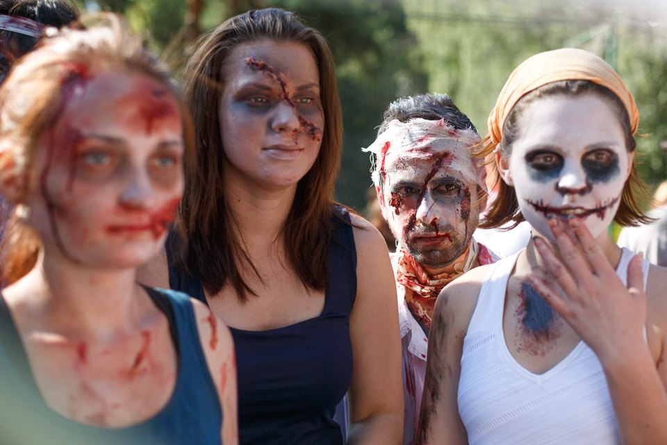 Enchanted race: Zombie attack in the Sokolniki Park in Moscow - 04