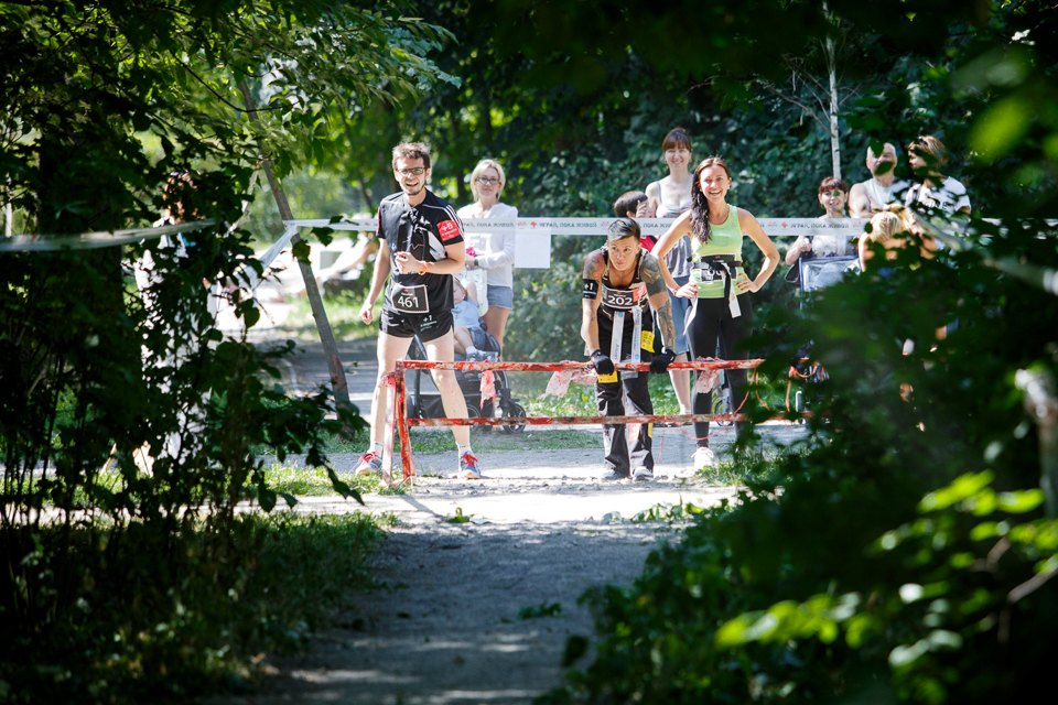 Enchanted race: Zombie attack in the Sokolniki Park in Moscow - 08