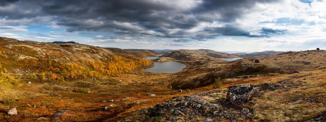 Kola Peninsula: Photos of beautiful wild nature and northern lights - 53