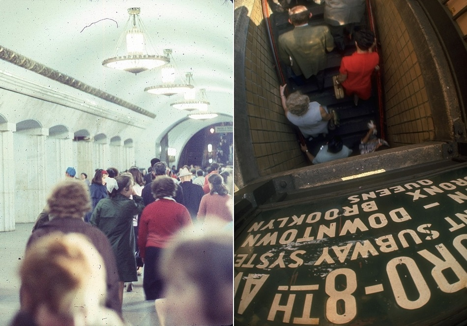 Moscow vs New York: Comparison of two big cities 45 years ago - 10