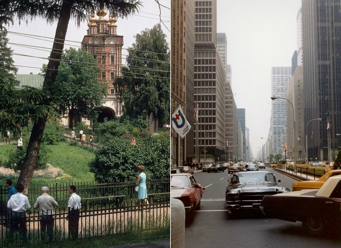 Moscow vs New York: Comparison of two big cities 45 years ago - 11