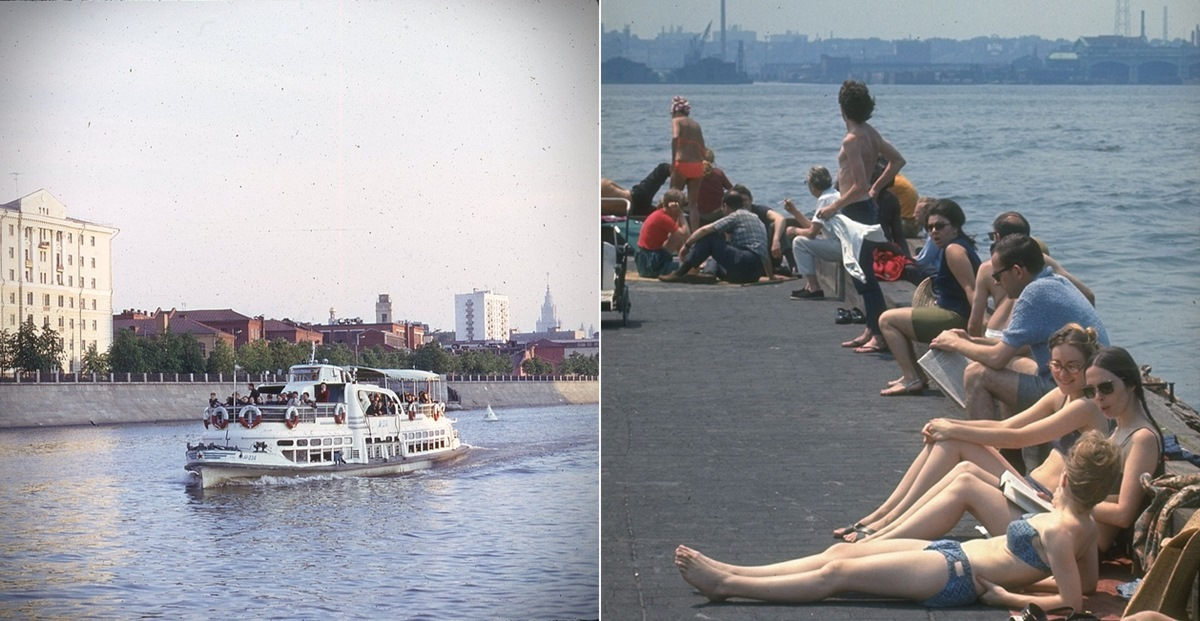 Moscow vs New York: Comparison of two big cities 45 years ago - 17