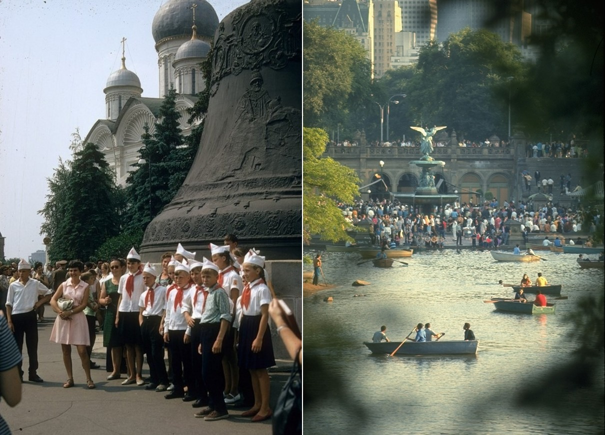 Moscow vs New York: Comparison of two big cities 45 years ago - 23
