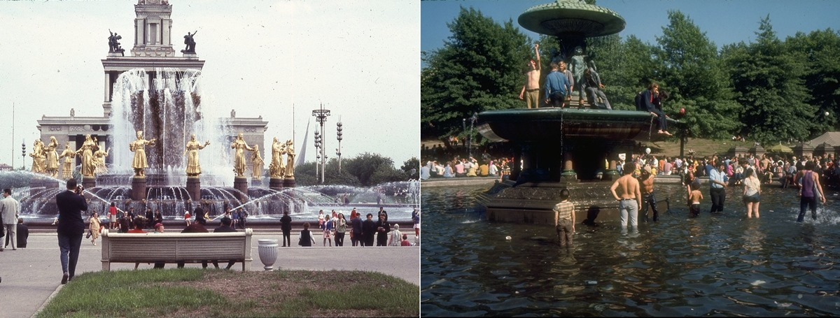 Moscow vs New York: Comparison of two big cities 45 years ago - 25