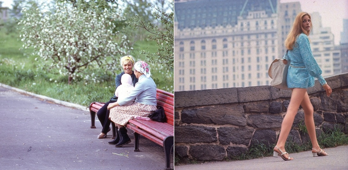 Moscow vs New York: Comparison of two big cities 45 years ago - 28