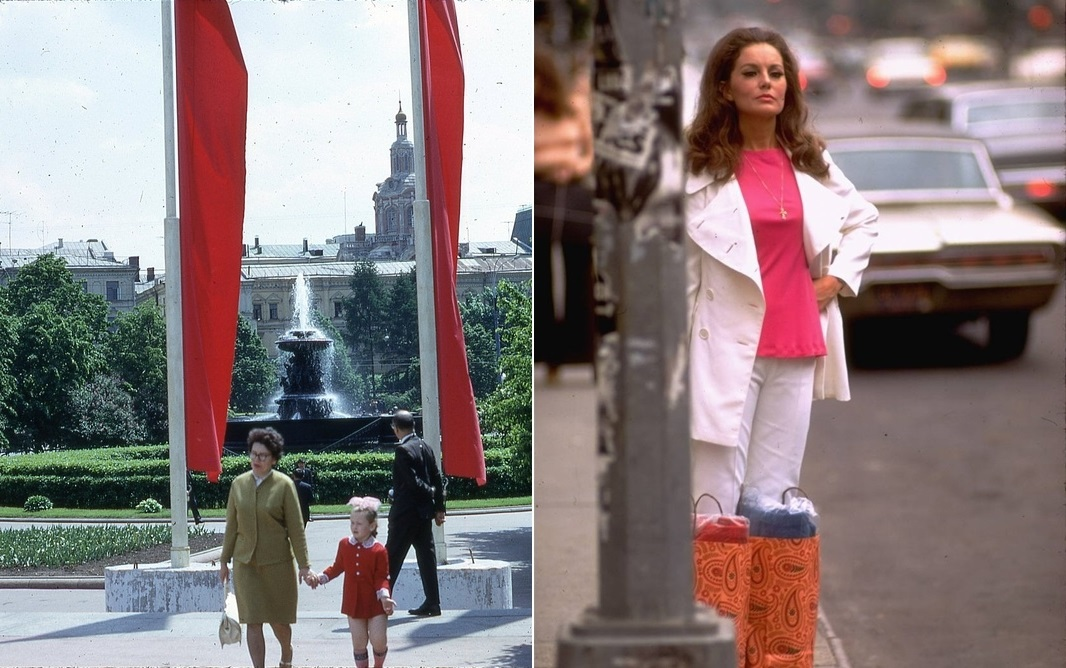 Moscow vs New York: Comparison of two big cities 45 years ago - 03