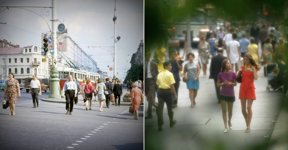 Moscow vs New York: Comparison of two big cities 45 years ago - 05