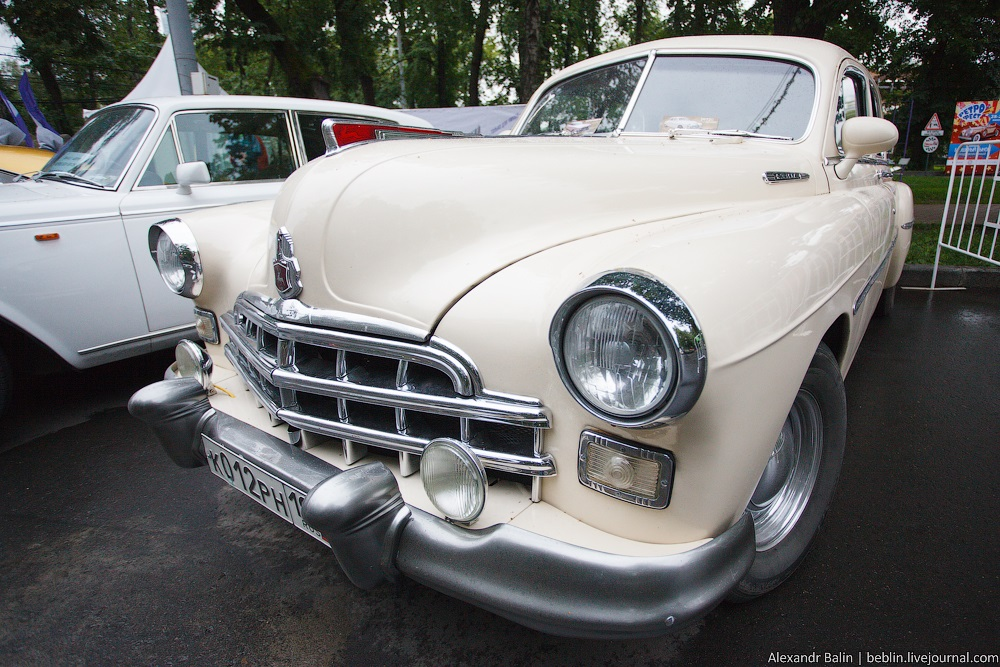 Retro Fest: 3rd festival of retro cars and antiques in Sokolniki Park - 13