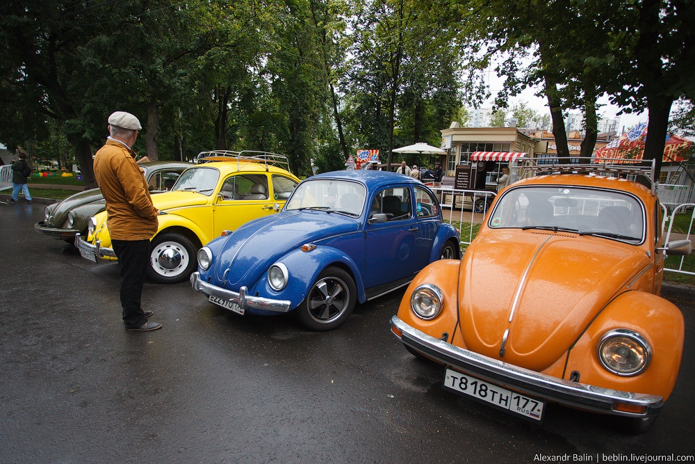 Retro Fest: 3rd festival of retro cars and antiques in Sokolniki Park - 02